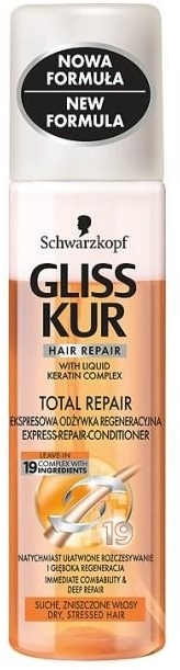 "Balsam ""Restaurare"" - Schwarzkopf Gliss Kur Total Repair Express Conditioner — Imagine N1"