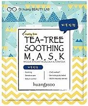 Parfumuri și produse cosmetice Mască calmantă pentru față - Huangjisoo Tea-Tree Soothing Mask