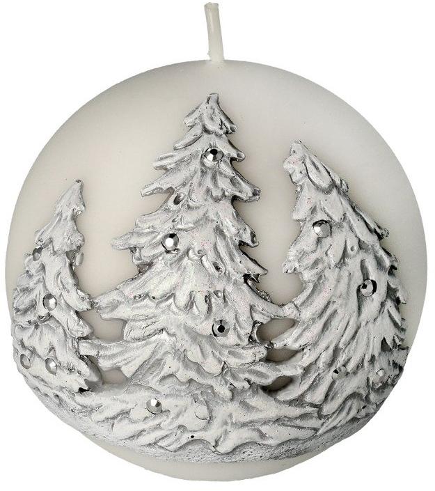 Lumânare aromată, 10 cm - Artman Christmas Tree Candle Ball — Imagine N1