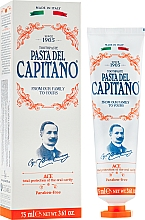 Parfumuri și produse cosmetice Pastă de dinți cu vitamine ACE - Pasta Del Capitano 1905 Ace Toothpaste Complete Protection
