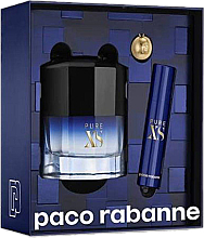 Parfumuri și produse cosmetice Paco Rabanne Pure XS - Set (edt/50ml + edt/mini/10ml)
