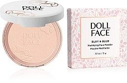 Pudră matifiantă pentru față - Doll Face Blot & Blur Mattifying Powder — Imagine N1