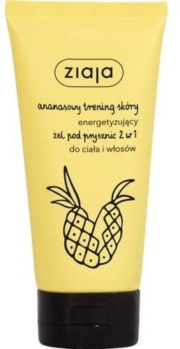 """Gel de duș """"Ananas"""" 2in1 - Ziaja Pineapple Shower Gel 2in1 — Imagine N1"""