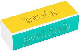 Parfumuri și produse cosmetice Buffer pentru unghii - Tools For Beauty 4-way Nail Buffer Block Normal
