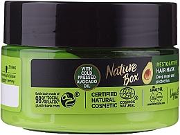 Parfumuri și produse cosmetice Mască intensivă pentru păr - Nature Box Avocado Oil Maska