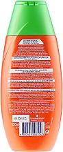 """Șampon """"Energie de cătină"""", pentru vitalitatea părului epuizat - Schwarzkopf Schauma Shampoo — Imagine N2"""