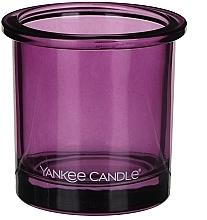 Parfumuri și produse cosmetice Sfeșnic pentru lumânare votivă - Yankee Candle POP Violet Tealight Votive Holder