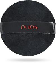 Parfumuri și produse cosmetice Burete pentru pudră, neagră - Pupa Powder Puff
