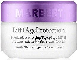 Parfumuri și produse cosmetice Cremă de zi pentru față - Marbert Lift4Age Protection Firming Anti-Aging Day Care SPF 15