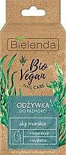 """Parfumuri și produse cosmetice Întăritor pentru unghii """"Alge"""" - Bielenda Bio Vegan Nail Care Sea Algae"""