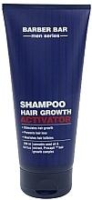 Parfumuri și produse cosmetice Șampon cu activator de creștere a părului - Barber.Bar Men Series Shampoo Hair Growth Activator