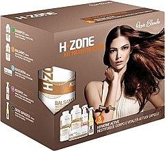 Parfumuri și produse cosmetice Set pentru îngrijirea părului - H.Zone (shm/500/ml + lot/500/ml + spray/250/ml + serum/150/ml + towel)