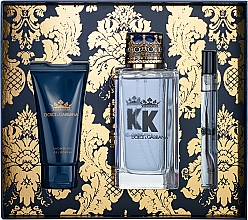Parfumuri și produse cosmetice Dolce & Gabbana K by Dolce & Gabbana - Set (edt/100ml + sh/gel/50ml + edt/mini/10ml)