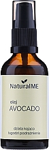 Parfumuri și produse cosmetice Ulei de avocado presat la rece - NaturalME (cu dozator)