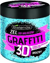 Parfumuri și produse cosmetice Gel de păr - Bielenda GRAFFITI 3D Strong Stayling Hair Gel Blue