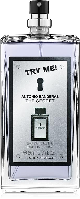 Antonio Banderas The Secret - Apă de toaletă (tester fără capac) — Imagine N1