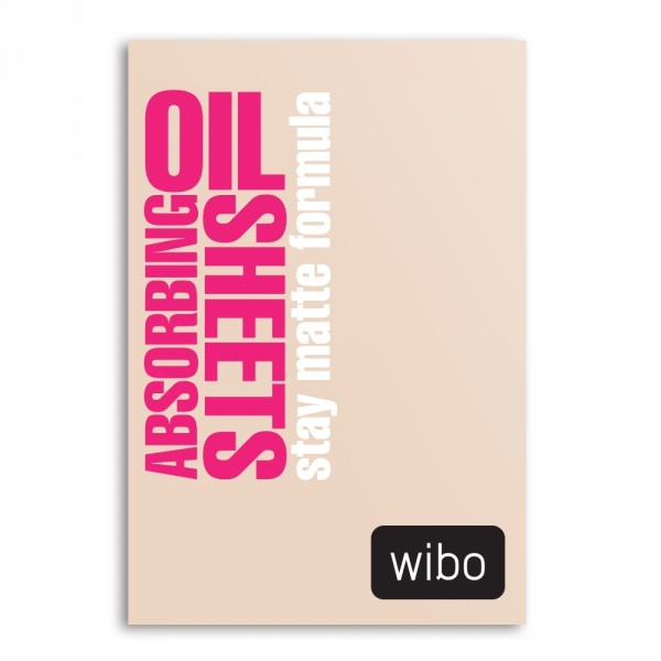 Șervețele matifiante - Wibo Oil Absorbing Sheets