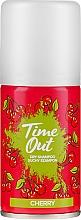 Parfumuri și produse cosmetice Șampon uscat pentru păr - Time Out Dry Shampoo Cherry