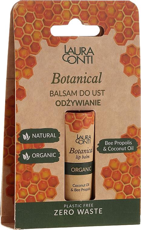 Balsam cu propolis pentru buze - Laura Conti Botanical Lip Balm — Imagine N1