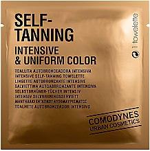 Parfumuri și produse cosmetice Șervețele autobronzante pentru față - Comodynes Self-Tanning Intensive & Uniform Color