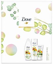 Parfumuri și produse cosmetice Set - Dove Revitalising Set (sh/gel/250ml + b/balm/250ml + h/cream/75ml)