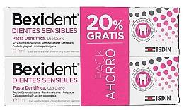 Parfumuri și produse cosmetice Set - Isdin Bexident Duo Sensitive Toothpaste(toothpaste/2x75ml)