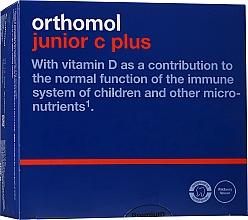"""Parfumuri și produse cosmetice Vitamine pentru copii """"Junior C Plus"""", fructe de pădure - Orthomol Immun"""