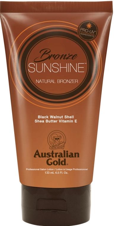 Loțiune intensificatoare pentru bronz - Australian Gold Bronze Sunshine