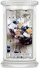 Parfumuri și produse cosmetice Lumânare aromată (borcan) - Kringle Candle Blueberry Muffin