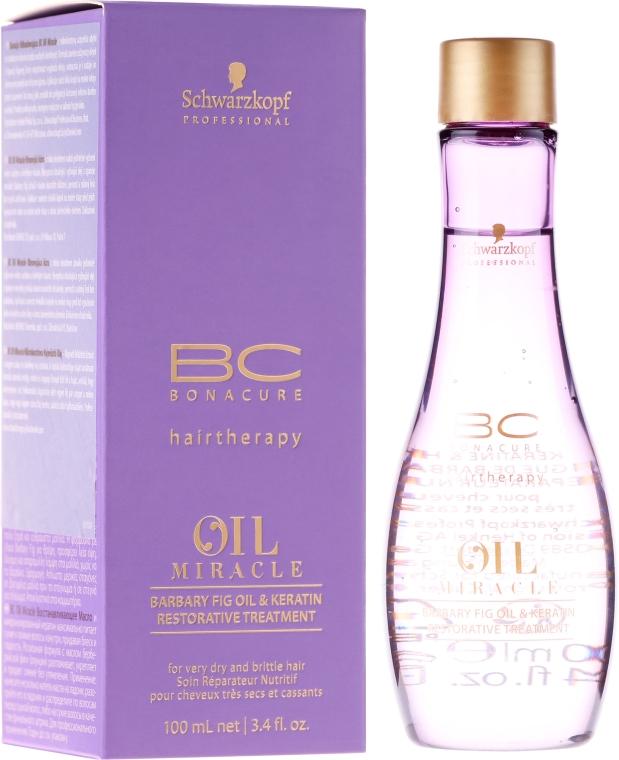 Ser ulei cu keratină pentru păr - Schwarzkopf Professional Bonacure Oil & Micro Keratin