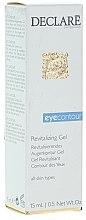 Parfumuri și produse cosmetice Gel pentru pleoape - Declare Revitalising Eye Contour Gel