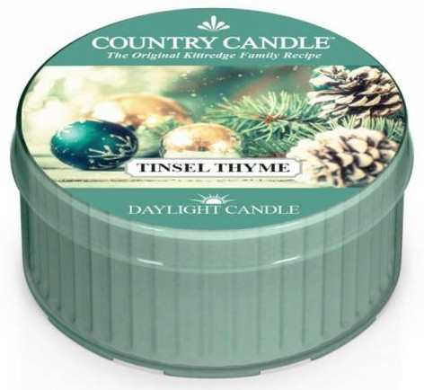 Lumânare de ceai - Country Candle Tinsel Thyme Daylight — Imagine N1