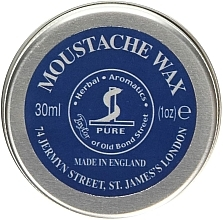 Ceară pentru mustăți - Taylor of Old Bond Street Moustache Wax Tin — Imagine N1