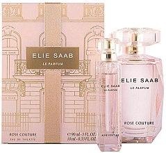 Parfumuri și produse cosmetice Elie Saab Le Parfum Rose Couture - Set (edt/90ml + edt/mini/10ml)