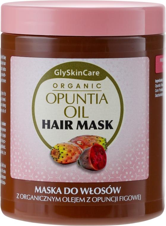 Mască de păr cu ulei organic de cactus Opuntia - GlySkinCare Organic Opuntia Oil Hair Mask — Imagine N1