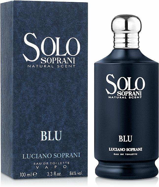Luciano Soprani Solo Soprani Blu - Apă de toaletă — Imagine N2