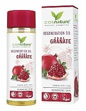 """Parfumuri și produse cosmetice Ulei regenerant pentru corp """"Rodie"""" - Cosnature Regenerating Oil Pomegranate"""