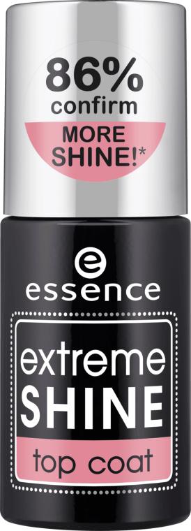 Fixator pentru lac de unghii - Essence Extreme Shine Top Coat — Imagine N1