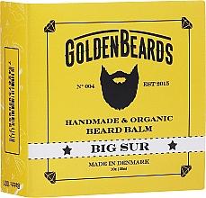 """Parfumuri și produse cosmetice Balsam pentru barbă """"Big Sur"""" - Golden Beards Beard Balm"""