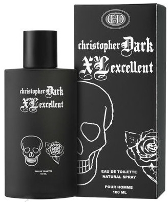 Christopher Dark Men XL Excellent - Apă de toaletă — Imagine N2