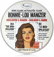 Iluminator, shimmer - theBalm Bonnie-Lou Manizer Highlighter & Shadow — Imagine N2