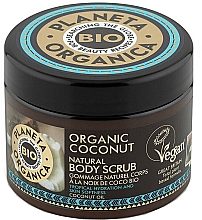 Parfumuri și produse cosmetice Scrub pentru corp - Planeta Organica Organic Coconut Natural Body Scrub