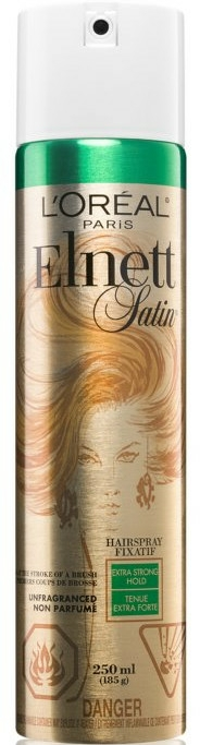 Lac de păr, fără miros - L'Oreal Paris Elnett Hairspray Fixatif Extra Strong Hold