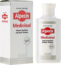 Parfumuri și produse cosmetice Tonic împotriva strălucirii firelor albite - Alpecin Medicinal Silver