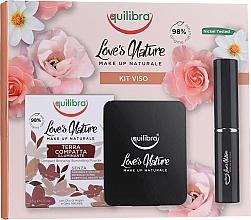 Parfumuri și produse cosmetice Set - Equilibra Love's Nature (powder/8.5g + brush)