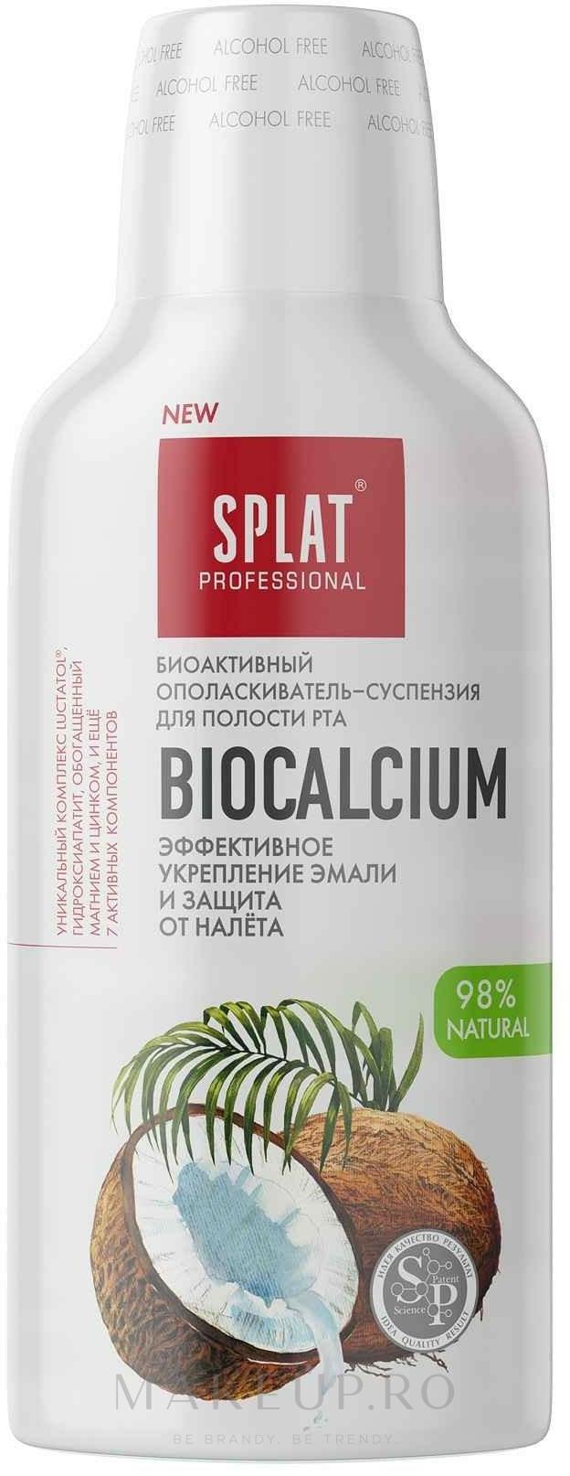 """Apă de gură """"Bio-calciu"""" - Splat  — Imagine 275 ml"""