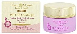 Parfumuri și produse cosmetice Cremă pentru pleoape - Frais Monde Pro Bio-Age Against Dark Circles Eye Cream