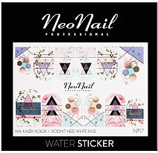 Parfumuri și produse cosmetice Abțibilduri pentru unghii - NeoNail Professional Water Sticker