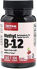 Parfumuri și produse cosmetice Suplimente nutritive - Jarrow Formulas Methyl B-12 Cherry Flavor 500 mcg