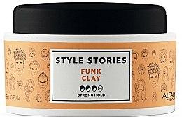Parfumuri și produse cosmetice Pomadă de păr, fixare puternică - Alfaparf Style Stories Funk Clay Strong Hold